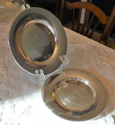SET OF 2 STERLING BREAD AND BUTTER PLATES MANCHESTER SILVER CO (4 sets available