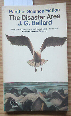 J.G. Ballard The Disaster Area Panther First Edition 1969
