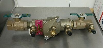 "(1) WATTS 3/4"" 007M3QT DC Backflow Prevention System 600 WOG NEW"