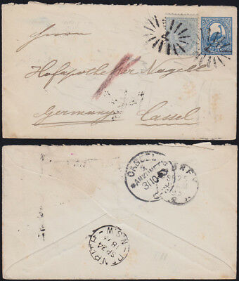 NEW SOUTH WALES NSW 1893 jubilee cover ZuF PENRITH+ 1905 PC Aborigine EDGECLIFFE