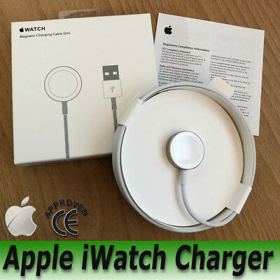 Genuine Apple iWatch Charger Magnetic Charging USB Cable 1/2/3 38mm&42mm 1m