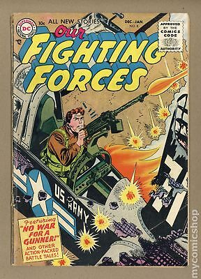 Our Fighting Forces #8 1955 VG 4.0
