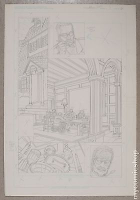 Original Art for Atomic Clones Issue 3, Page 6 by Paris Cullins (Unreleased)