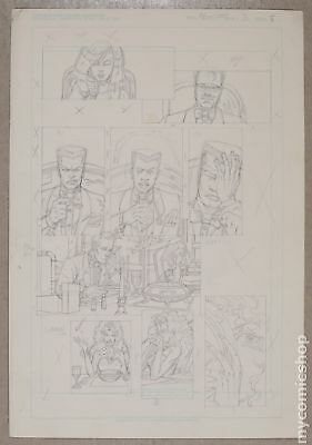 Original Art for Atomic Clones Issue 3, Page 8 by Paris Cullins (Unreleased)