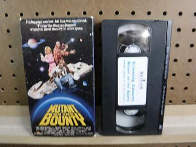 Rare VHS Screening Demo Cassette Mutant on the Bounty Southgate Entertainment