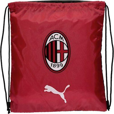 6add29969b AC MILAN PUMA Bag Backpack Rucksack tg Unisex Red Liga 2018 19 ...