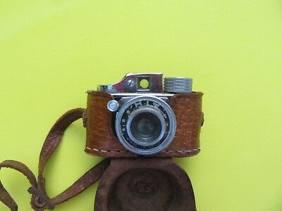 Vintage HIT  Subminiature Mini Spy Camera w/Case~UNTESTED~ Made in Japan~#8