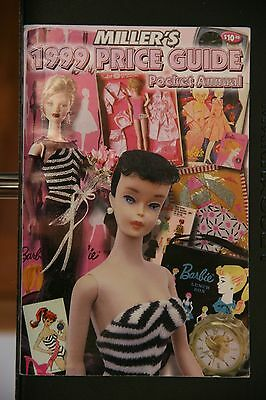 1999 Miller'$ Price Guide Pocket Annual  ID Guide for 1960's Barbie Dolls - Used