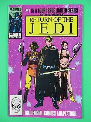 Star Wars: Return of The Jedi #1-4 High Grade 4 Issue Limited Series