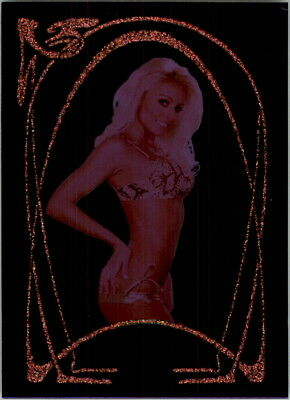 2007 Bench Warmer Gold Purple Foil #2 Mary Riley