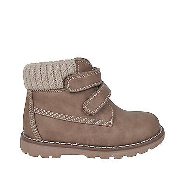 Caleb | 8Mile | Kids girls ankle boot padded collar dual straps | Spendless