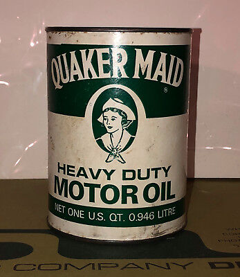 Vintage QUAKER MAID Full Oil Can