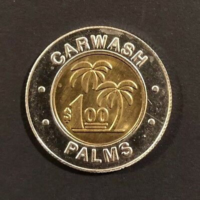 Carwash Palms Carwash Token