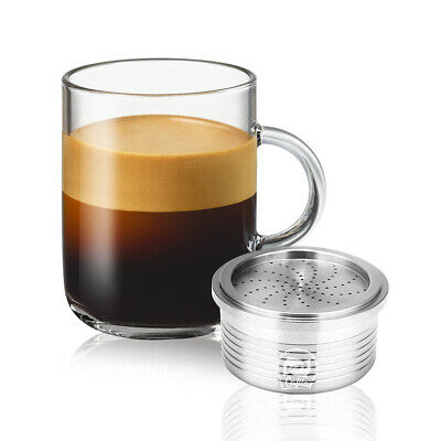 Stainless Steel Reusable Refillable Capsule Pod Cup For LAVAZZA Espresso Machine
