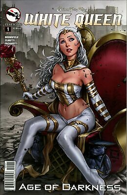 3B cover ~ Zenescope The Library #3 Grimm Fairy Tales Presents