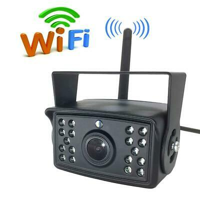 AU! 120°WiFi Wireless Car Rear View Cam Backup Reverse Camera For IPhone Android