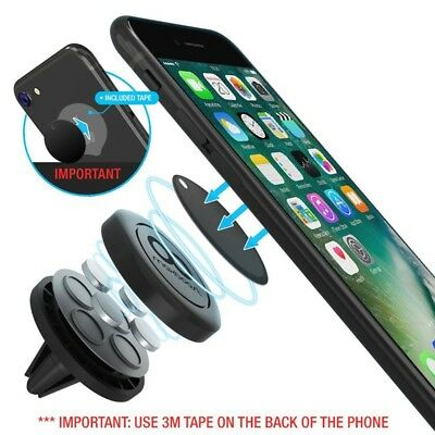 Universal Car Air Vent Dashboard Super Strong Magnetic Phone Holder Stand