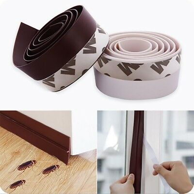 Home Self-Adhesive Weather Stripping Under Door Draft Stopper Window Seal Strip