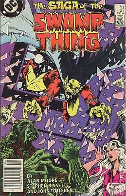 Swamp Thing (2nd Series) #27 1984 FN+ 6.5 Stock Image