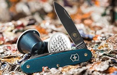 Victorinox Pioneer Nespresso Le Dharkan Limited Edition 2018 sustainability Blue