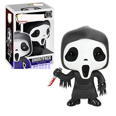 Funko Pop! Ghost Face #51 From The Movie Scream Horror Ghostface Vinyl Figure