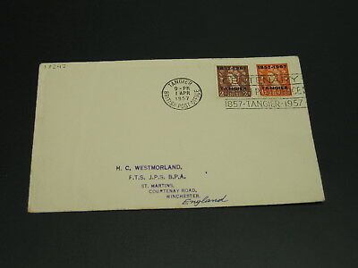 Morocco 1957 special slogan cancel cover *19242