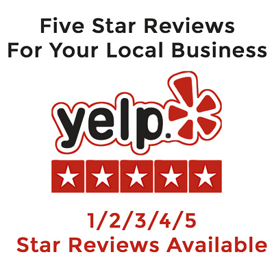 Yelp Reviews | 1/2/3/4/5 Star Reviews Available for Local Business