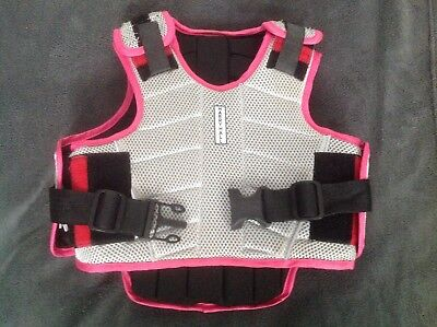 Harry hall level 3 body protector safety jacket childs size small excellent cond