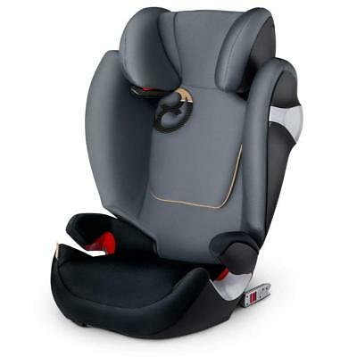 Cybex Gold Solution M Fix Silla De Coche Grupo 2 3 Isofix Graphite