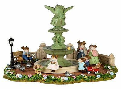 Wee Forest Folk M-2017 Young Annette in Central Park - Number Ltd Ed of 350 pcs
