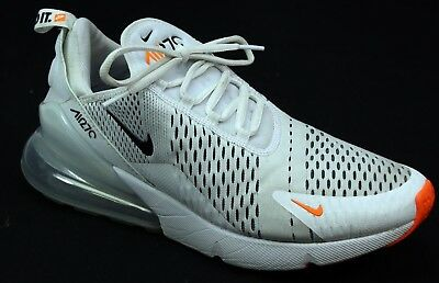 new arrival 6bdcc 8c258 Mens Nike Air Max 270 White Rmesh Fitness Active Sport Sneakers Trainers  Size 10