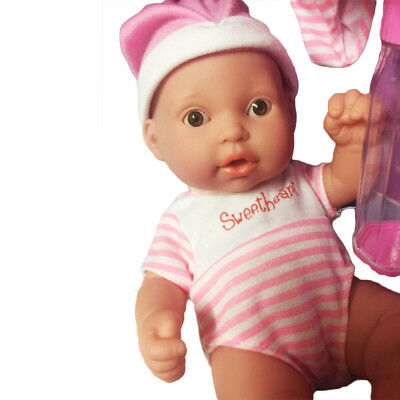 Kids Baby Play Doll Realistic Newborn Kids Toddler Toy With Accessories Pretend
