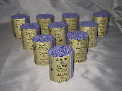 10 packs Anchor mauve #54 6-ply rug wool,formerly Readicut/Homemakers.
