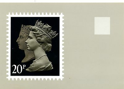 National Postal Museum 1990 Penny Black Anniversary postcard