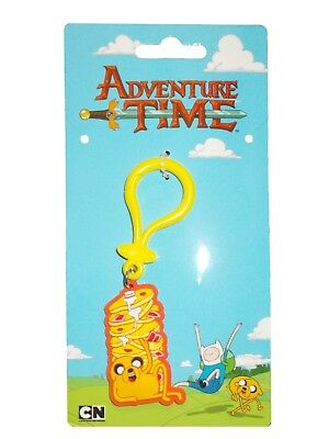 Cartoon Network Adventure Time Collectable Rubber Keyring Jake & Pancakes Charm