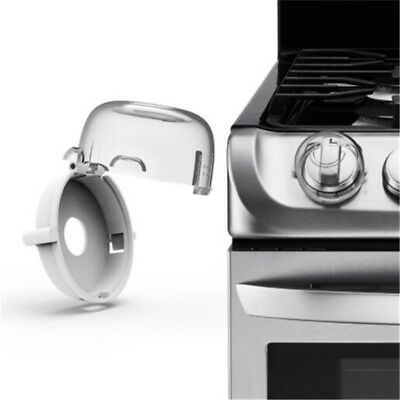 Transparent Kid Safety Oven Stove Gas Range Control Switch Lock Cover Z