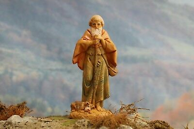 "5"" Fontanini Nativity VILLAGER ABRAHAM - Depose Italy 1987 w/ BOX - NICE!!!"