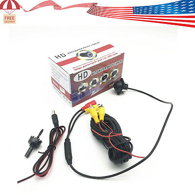 12V HD CCD Car Auto Rear View Camera Reverse Parking Backup Camera Night Vision