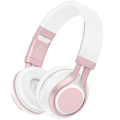 Lightweight Bluetooth Wireless Stereo Headphones Foldable Soft  Protein Headsets