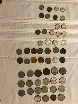 Lot 55 Old coins England Great Britain Australia