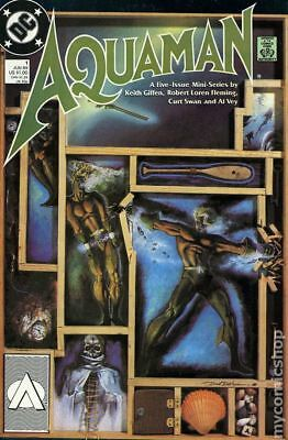 Aquaman (2nd Limited Series) #1 1989 FN Stock Image
