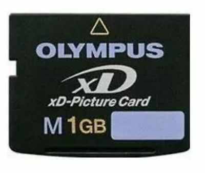 1GB Olympus XD Picture Memory Card M M-XD1GM3 Genuine Free Shipping F.Camera