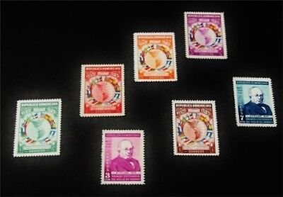 nystamps Dominican Republic Stamp # 351-357 Mint OG NH $31