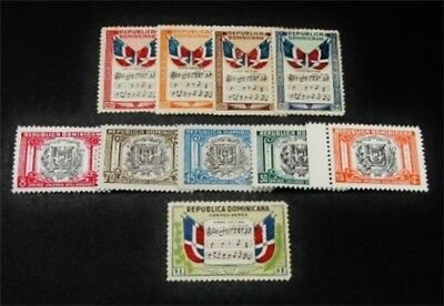 nystamps Dominican Republic Stamp # C57-C61.G8-G12 Mint OG H/NH $43