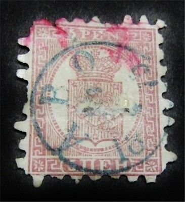 nystamps Finland Stamp # 12 Used $160