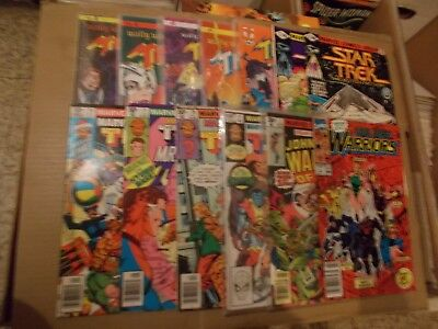 New Warriors 1 Warlord 1 Two-In-One 70-71,74 Ann 7 Star Trek 3-4 T.hunder 5 Issu