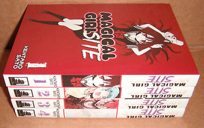 Magical Girl Site Vol. 1,2,3,4 Manga Graphic Novels English