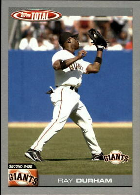 2004 (GIANTS) Topps Total Silver #408 Ray Durham