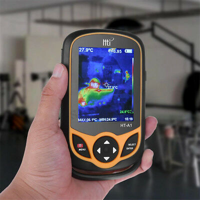 "Hti HT-A1 3.2"" Full View TFT Screen Infrared thermometer Thermal Camera Imager"