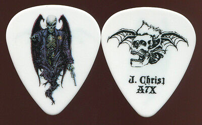 AVENGED SEVENFOLD 2010 Nightmare Tour Guitar Pick JOHNNY CHRIST concert stage #1